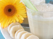 Dulce de Leche Frozen Banana Smoothie